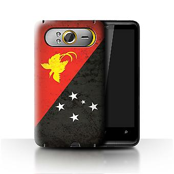 STUFF4 Case/Cover for HTC HD7/Papua New Guinea/Oceania Flag