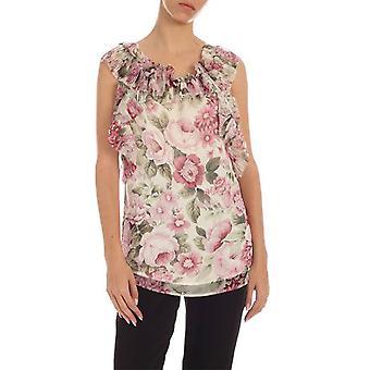 P.a.r.o.s.h. D311274802 Women's Multicolor Polyester Top