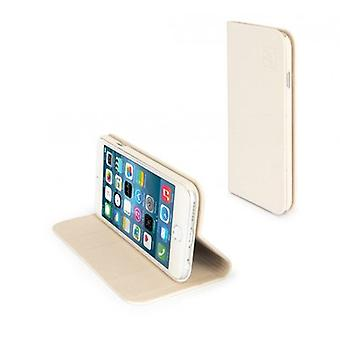 Tucano Libro Booklet Case IPH64LO-IY for Apple iPhone 6/6S Ivory Colors