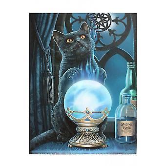 Lisa Parker The Witches Apprentice Canvas Plaque