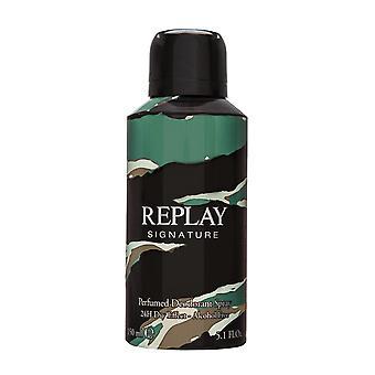 Replay Signature Deodorant Spray 150ml
