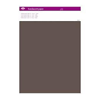Pergamano Translucent Paper Taupe A4 150 gsm 5 Sheets