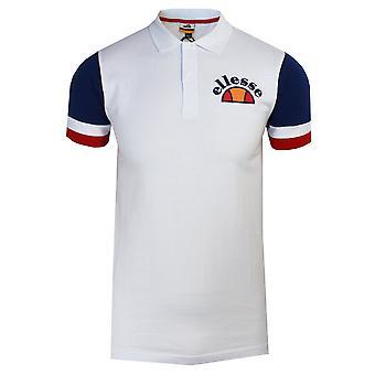 Ellesse costa men's biała koszulka polo