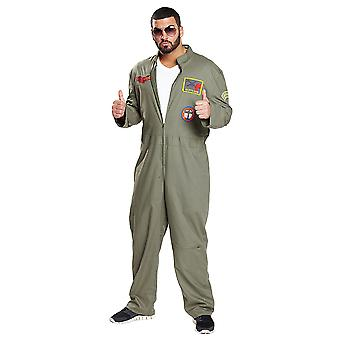 Pilote de chasse, vol global costume costume pilote de chasse de chasse pour les hommes