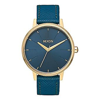 Nixon women's Quartz Analog leather strap A108-2816-00