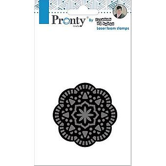 Pronty Crafts Mandala 2 Laser Foam Timbre