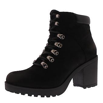 Naisten Vagabond Grace lohko kantapää muoti suljettu Toe musta nilkan Boot