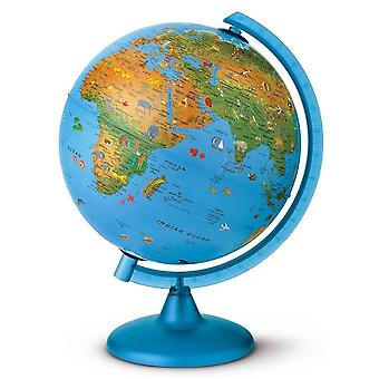 Nova Rico 25cm Arca Illuminated Childrens World Globe