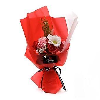 Artificial Soap Flower Bouquet