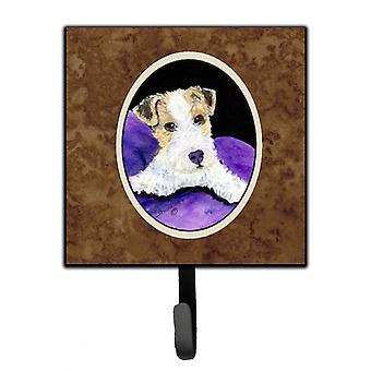 Carolines Treasures  SS8971SH4 Fox Terrier Leash Holder or Key Hook