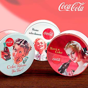 Coca-Cola retro forduló Metal Box