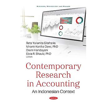 Contemporary Research in Accounting  An Indonesian Context by Edited by Beta Yulianita Gitaharie