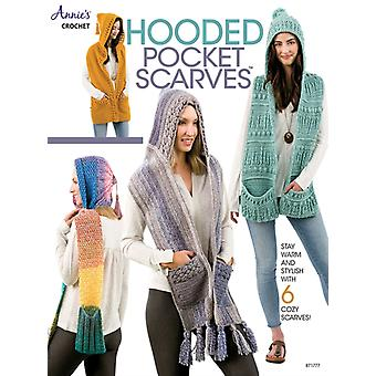 Hooded Pocket Scarves  Stay Warm and Stylish with 6 Cozy Scarves by Annie s Crochet