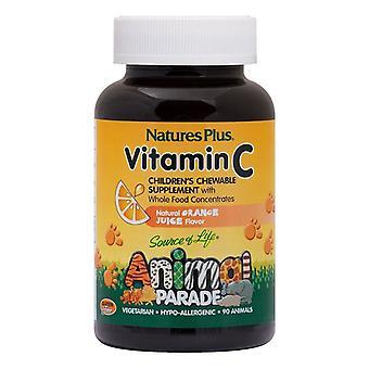 Nature's Plus Animal Parade Vitamin C Chewables 90 (29998)