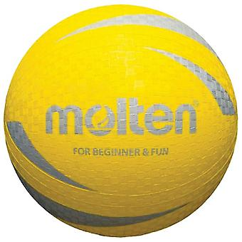 Molten L2S1250 Multi Purpose Sports Training Ball Ideal For Schools Clubs - Yellow