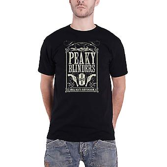 Peaky Blinders T Shirt Soundtrack 1919 Logo new Official Mens Black