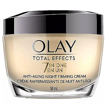 Olay total effects anti-aging opstrammende natcreme, 1,7 oz