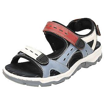 Rieker åben tå Trekking sandaler 68872-13