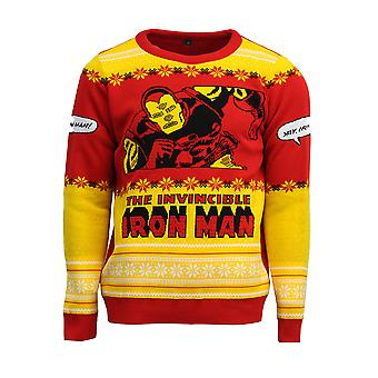 Official Invincible Iron Man Christmas Jumper / Ugly Sweater