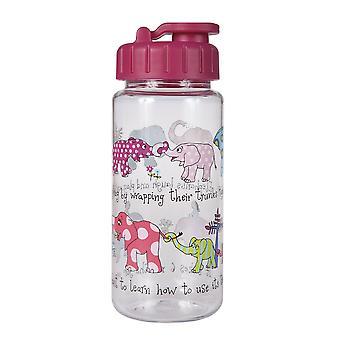 Tyrrell Katz elefanter drikker flaske med halm