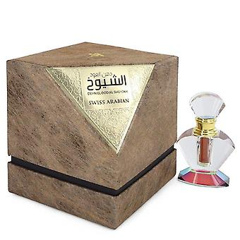 Dehn El Oud Al Shuyokh Pure Perfume (Unisex) By Swiss Arabian 0.2 oz Pure Perfume