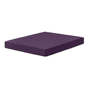 Fun!ture Purple 'Delta' Water Resistant Large Fitness Gym Mat - 100cm x 80cm