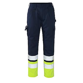 Mascot patos hi-vis work trousers 12379-430 - safe compete, mens -  (colours 2 of 2)