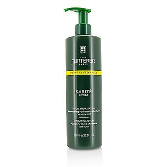 Karite hydrating rituaali kosteuttaa loistaa shampoo kuivat hiukset (salonkituote) 216923 600ml / 20.2oz