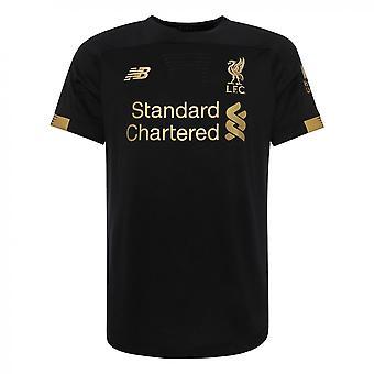 2019-2020 Liverpool Home Short Sleeve Goalkeeper Shirt (Black)