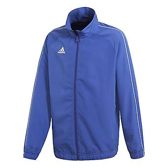 Barn's Sports Jacket Adidas CORE18 PRE Blå/8 år