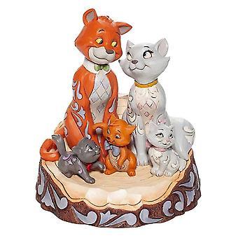 Disney Traditionen Aristocats geschnitzt von Herz Figur
