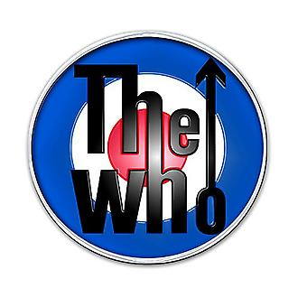 The Who classic mod Target Logo new Official Metal Pin badge