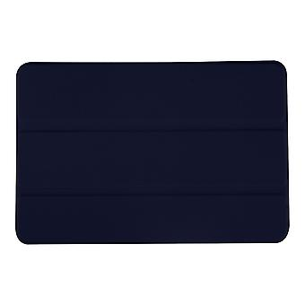 Slim PU Leather Case Cover for Samsung Galaxy Tab A 8 T350[Navy Blue]