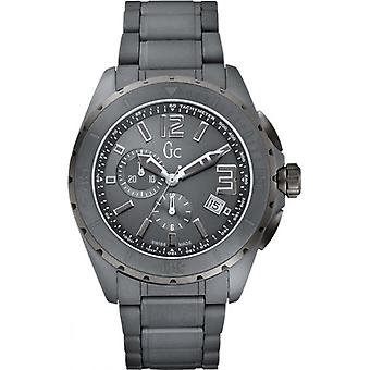 Guess Collection X76016G5S Wristwatch Grey/Black Men's Watch