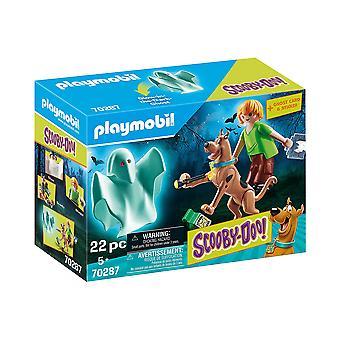 Playmobil 70287 Scooby-Doo! Scooby and Shaggy with Ghost