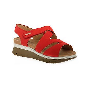Enval soft nabouk cherry shoes