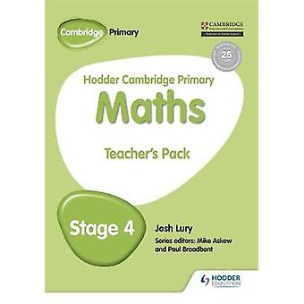 Hodder Cambridge Primary Mathematics Teacher's Resource Pack 4 by Jos