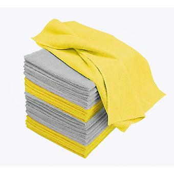 Microfibre cloths Pack of 20 - Large 40cm x 40cm - 300gsm