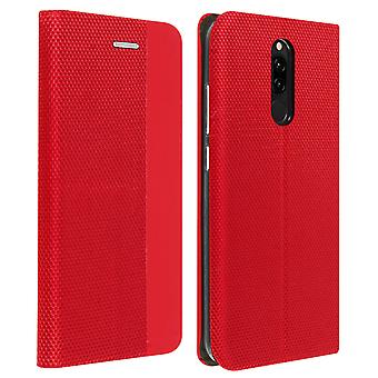 Protective Cover Xiaomi Redmi 8 / 8A Card Holder Interior Soft-touch red