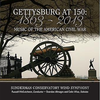 Stamp/Dawson/Ticheli/Clarke/Ungar/Naylor/Grundman/ - Gettysburg at 150 [CD] USA import