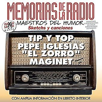 Memorias De La Radio Maestros Del Humor [CD] USA import