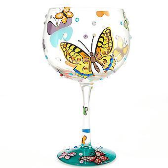Lolita Butterflies Gin Glass