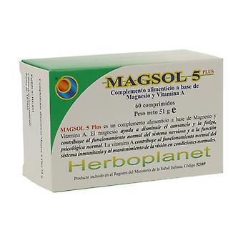 Magsol 5 Plus 51g 60 tablets