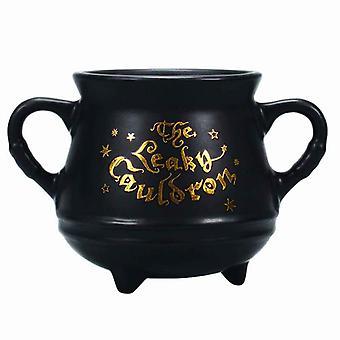 Harry Potter Mug The Leaky Cauldron Mini Cauldron shaped Official Black Boxed