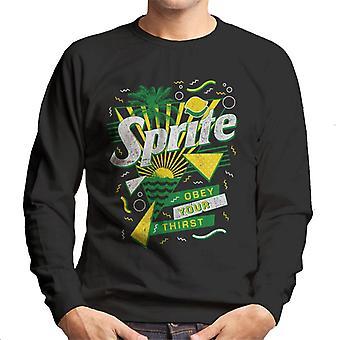 Sprite Retro 90s Sunset Men's Sweatshirt