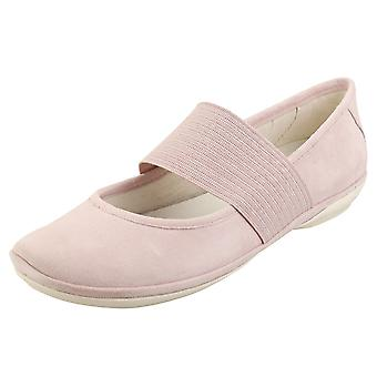 Camper Right Nina Womens Ballerina Shoes in Pink