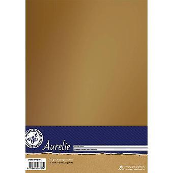 Aurelie Chromolux Cardstock Goud
