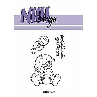 NHH Design Sitting Baby Clear Stamps