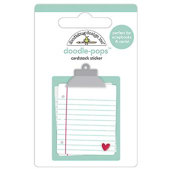 Doodlebug Design Note d'Amore Doodle-Pops