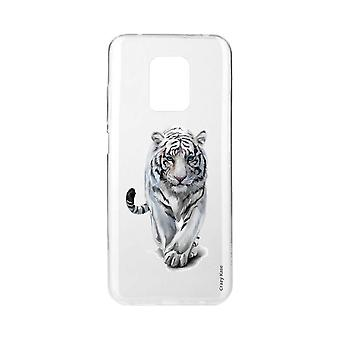 Scafo per Xiaomi Redmi Note 9 Pro Soft White Tiger